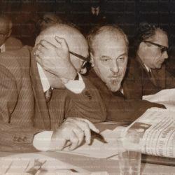Pietro Nenni con Lelio Basso